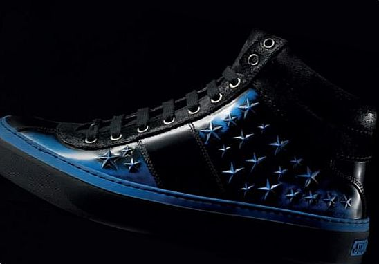 Jimmy Choo Belgravia High Tops & Star Studded